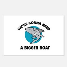 We're gonna need a bigger boat Postcards (Package