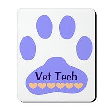 Vet Tech Paw 22 Mousepad