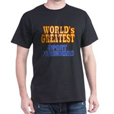 World's Greatest Sport Fisherman T-Shirt