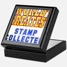 World's Greatest Stamp Collector Keepsake Box