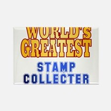 World's Greatest Stamp Collector Rectangle Magnet