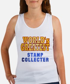 World's Greatest Stamp Collector Women's Tank Top
