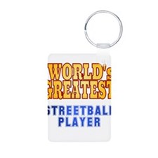 World's Greatest Streetball Player Keychains