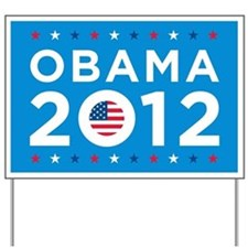 Barack Obama 2012 Yard Sign