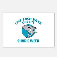 Live each week like it's shark week Postcards (Pac
