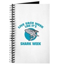 Live each week like it's shark week Journal