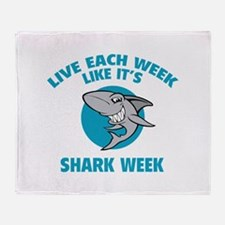 Live each week like it's shark week Stadium Blank
