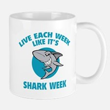 Live each week like it's shark week Mug