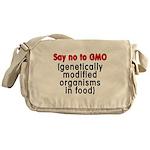 Say no to GMO - Messenger Bag