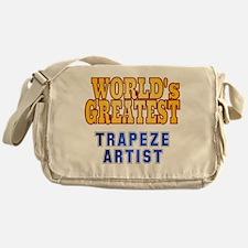 World's Greatest Trapeze Artist Messenger Bag