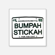 "Bumpah Stickah Square Sticker 3"" x 3"""