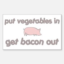 Get Bacon Out Decal