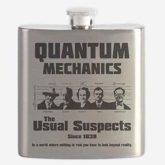 Quantum Mechanics-The Usual Suspects Flask