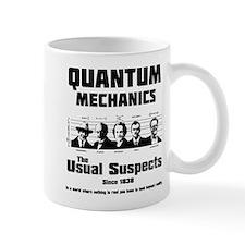 Quantum Mechanics-The Usual Suspects Mug