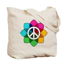 Flower of Peace Tote Bag