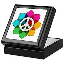 Flower of Peace Keepsake Box