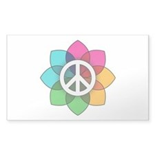 Flower of Peace Decal