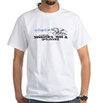 Snakes On A Plane White T-Shirt