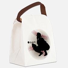 iCatch Baseball Canvas Lunch Bag