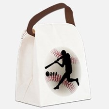 Baseball iHit Canvas Lunch Bag