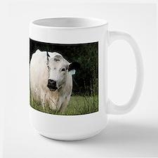 British White Cow - Color #2 Mug