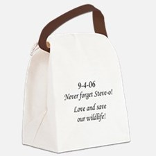 Never forget Steve-o! Canvas Lunch Bag