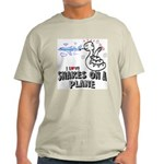 Snakes On A Plane Ash Grey T-Shirt