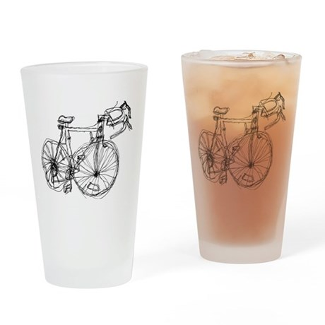 bike vector.png Drinking Glass