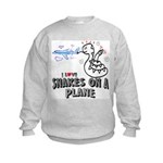 Snakes On A Plane Kids Sweatshirt