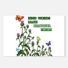 Kind Words Make Beautiful Ech Postcards (Package o