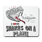 Snakes On A Plane Mousepad