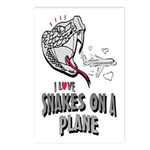 Snakes On A Plane Postcards (Package of 8)