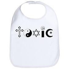 Religion is Toxic Bib