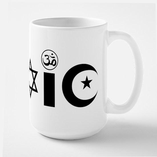 Religion is Toxic Large Mug
