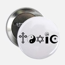 "Religion is Toxic 2.25"" Button"