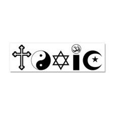 Religion is Toxic Car Magnet 10 x 3