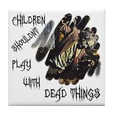 """Zombie"" Tile Coaster"