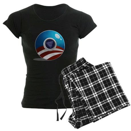 The Magic O-Ball! Women's Dark Pajamas