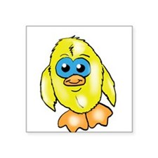 """Baby Canary Square Sticker 3"""" x 3"""""""