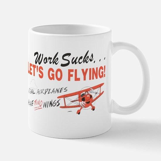 ... lets go FLYING! Mug
