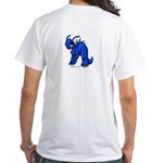 Blue Kronomantis White T-Shirt