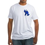 Blue Kronomantis Fitted T-Shirt