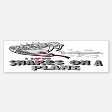 Snakes On A Plane Bumper Bumper Bumper Sticker