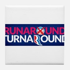 Runaround Turnaround Tile Coaster
