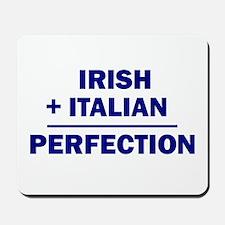 Italian + Irish Mousepad