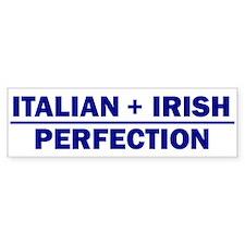 Italian + Irish Bumper Car Sticker
