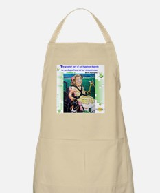 Happiness is .. BBQ Apron