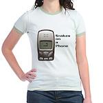 Snakes on a Phone Jr. Ringer T-Shirt