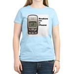 Snakes on a Phone Women's Pink T-Shirt