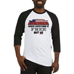 America the Free Baseball Jersey